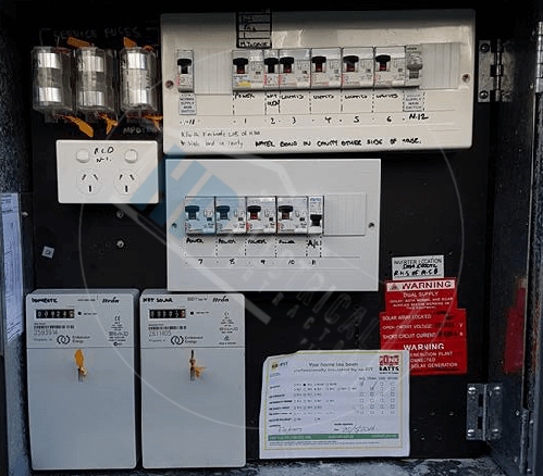 level 2 electrician meter box replacement cost fairfield nsw