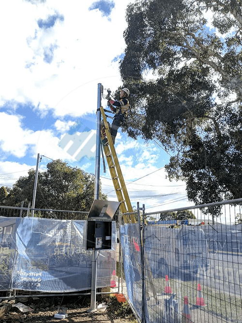 private power pole installation Fairfield NSW & western sydney