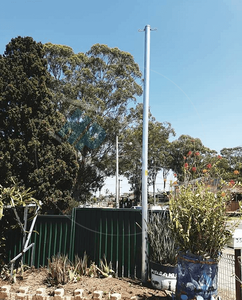 level 2 electrician private power pole replacement Sydney nsw