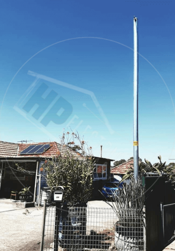 Level 2 Electrician Private Pole Installation in Blacktown